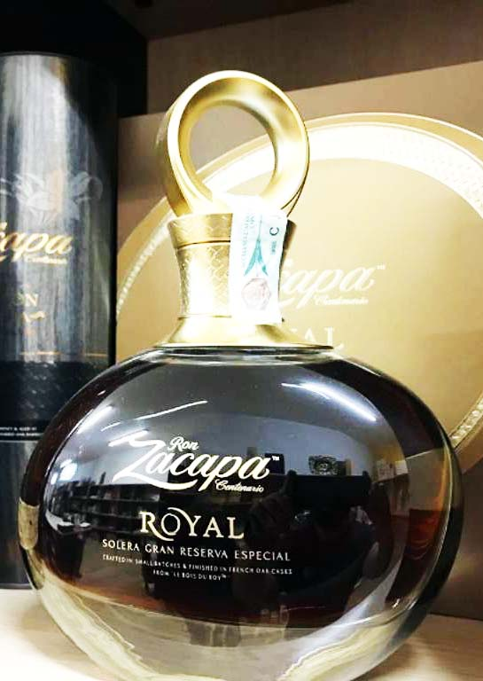 Wine Shop Ron Zacapa rum
